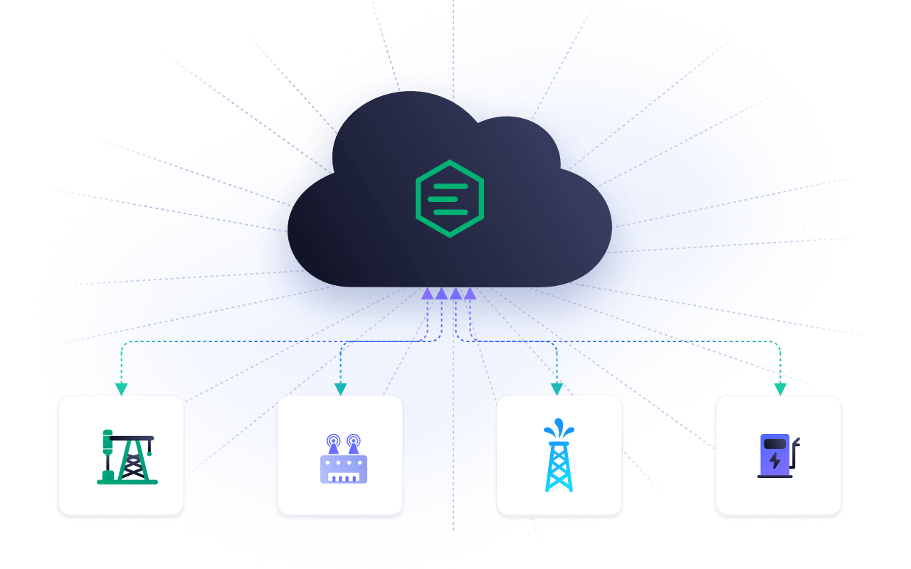 Provide multi-level real-time data access and aggregation capabilities from the cloud to the edge